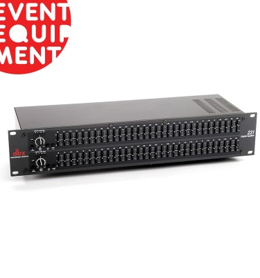Hire Dual Band Equaliser in Melbourne and Sydney.
