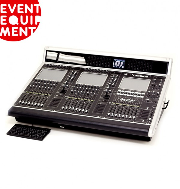 DIGICO D1 64 Channel Digital Mixing Console Hire