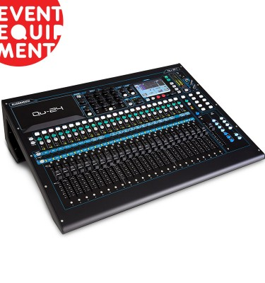 Hire a digital mixing console in Melbourne or Sydney.