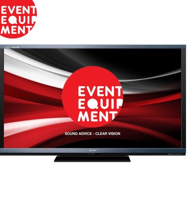 Sharp-80inch-Screen-Hire