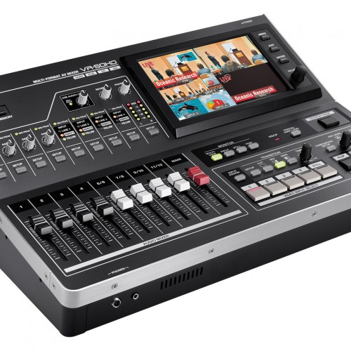 Roland VR-50HD vision switcher is now available to hire.