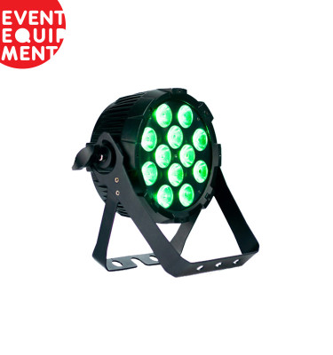 LED RGBW Flat Par Lighting Hire.