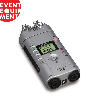 Available in Melbourne and Sydney, our Zoom H4 recorders are ready to hire.
