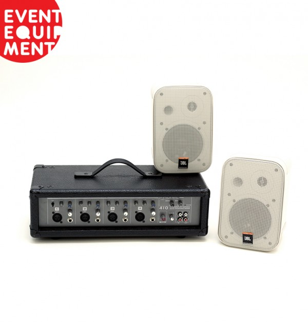 Sound system hire for expo stand