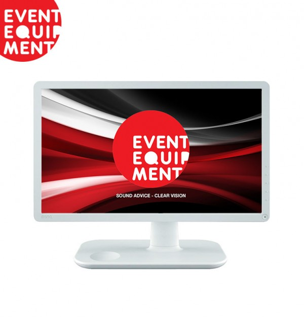 Benq-22inch-White-LED-Monitor-Screen-Hire
