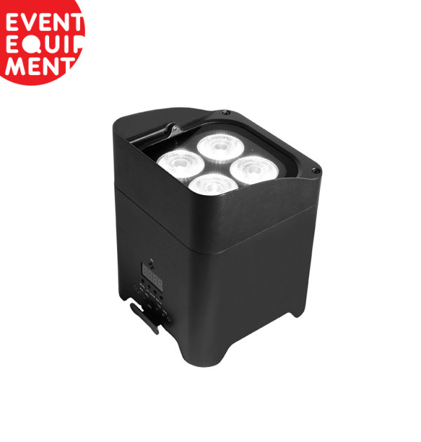 Commercial Lighting Hire: Hire Battery Powered LED Quad Uplight Wash Fixtures